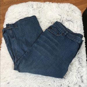 ⭐️. Lauren Ralph Lauren jean capri size 20W